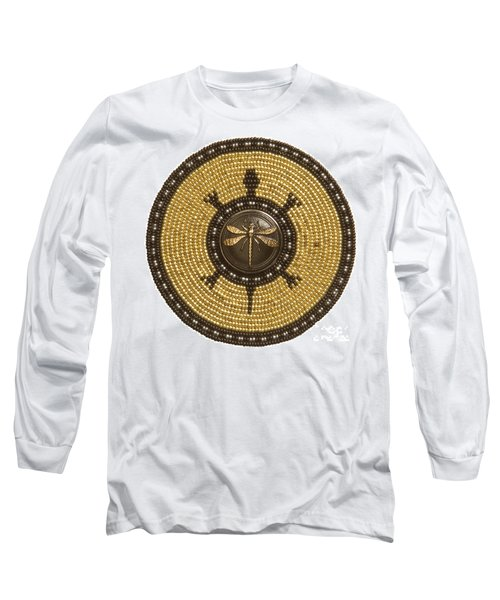 Dragonfly Turtle Long Sleeve T-Shirt