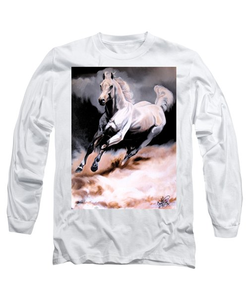 Dream Horse Series 20 - White Lighting Long Sleeve T-Shirt