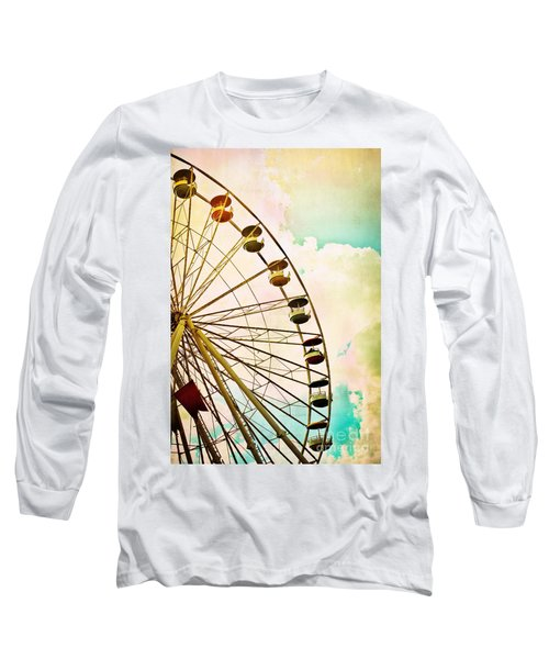 Dreaming Of Summer - Ferris Wheel Long Sleeve T-Shirt