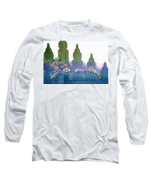 Long Sleeve T-Shirt featuring the photograph Dreams Of A Picket Fence by Holly Kempe