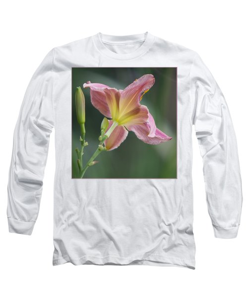 Dreamy Daylily Long Sleeve T-Shirt by Patti Deters