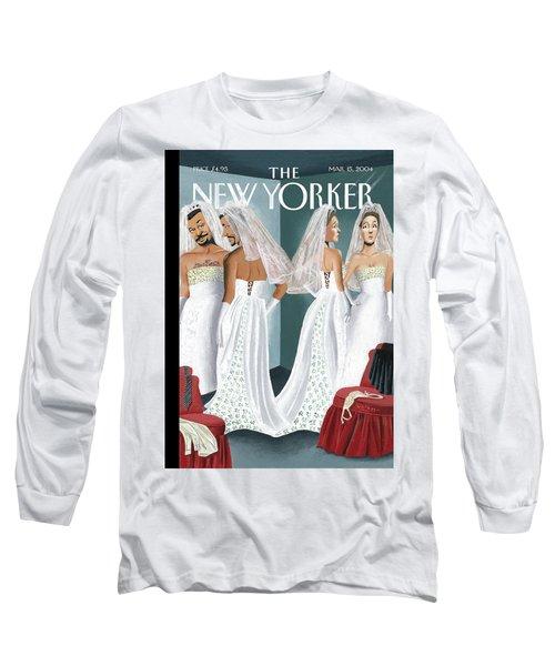 Dress Reversal Long Sleeve T-Shirt