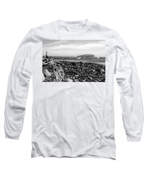 Driftwood And Harbor Long Sleeve T-Shirt