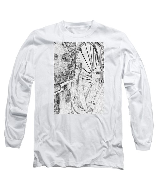 Drive Wheels Dm  Long Sleeve T-Shirt