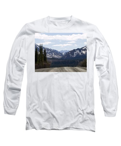 Drop Off Long Sleeve T-Shirt by Tara Lynn