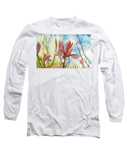Drops Of Morning Long Sleeve T-Shirt