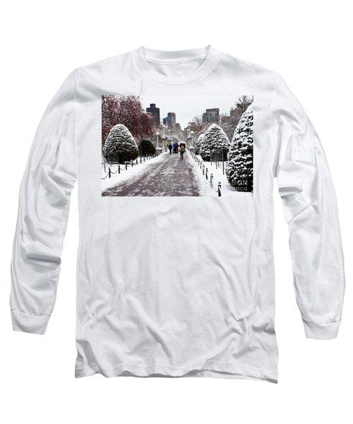 Duck Pond Bridge Long Sleeve T-Shirt