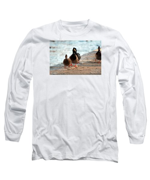Duck Walk Long Sleeve T-Shirt by David Jackson