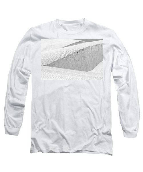 Long Sleeve T-Shirt featuring the photograph Dune Abstract, Paryang, 2011 by Hitendra SINKAR