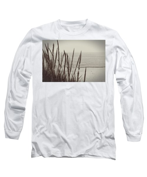 Dune Grass In Early Spring Long Sleeve T-Shirt