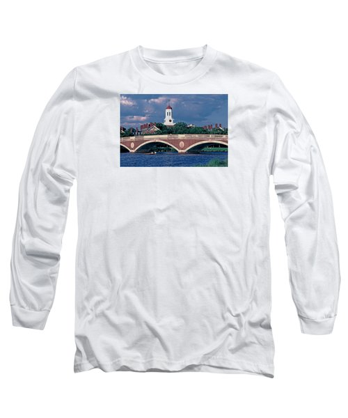 Weeks Bridge Charles River Long Sleeve T-Shirt