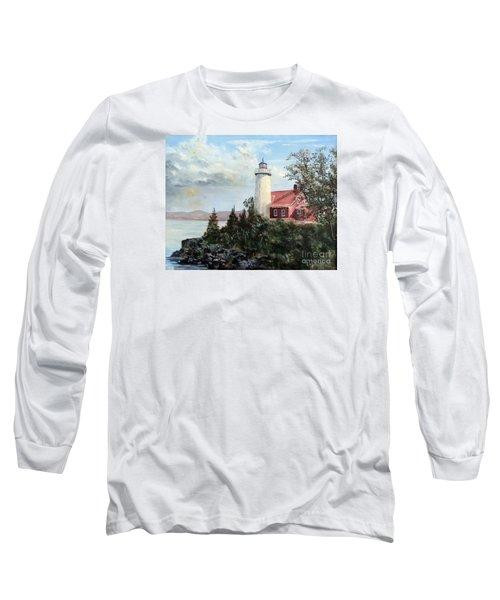 Eagle Harbor Light Long Sleeve T-Shirt