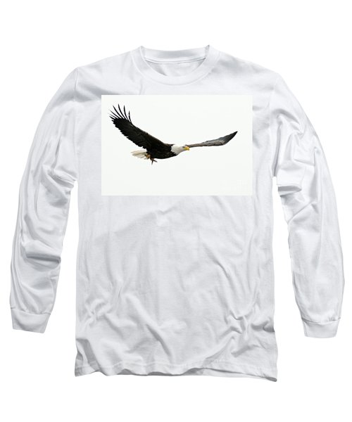 Eagle With Fish Long Sleeve T-Shirt