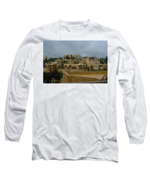 Long Sleeve T-Shirt featuring the photograph Early Morning In Jerusalem by Doc Braham