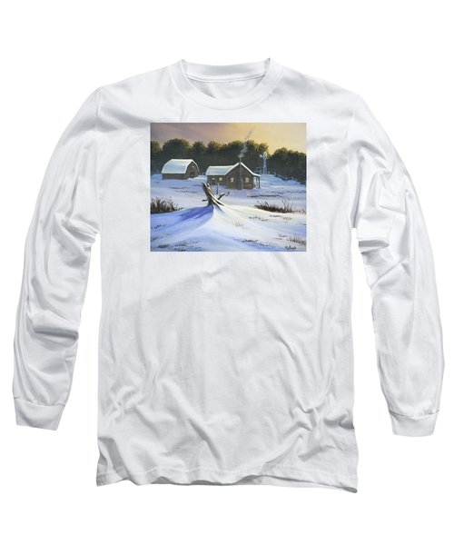 Early Snow Long Sleeve T-Shirt by Jack Malloch