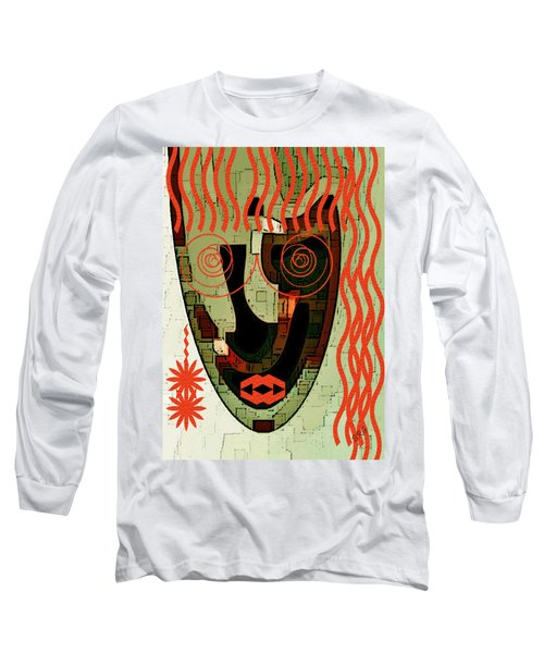Earthy Woman Long Sleeve T-Shirt