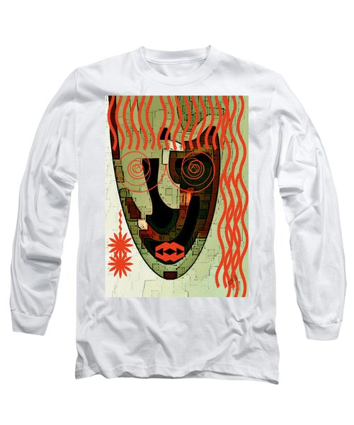 Earthy Woman Long Sleeve T-Shirt
