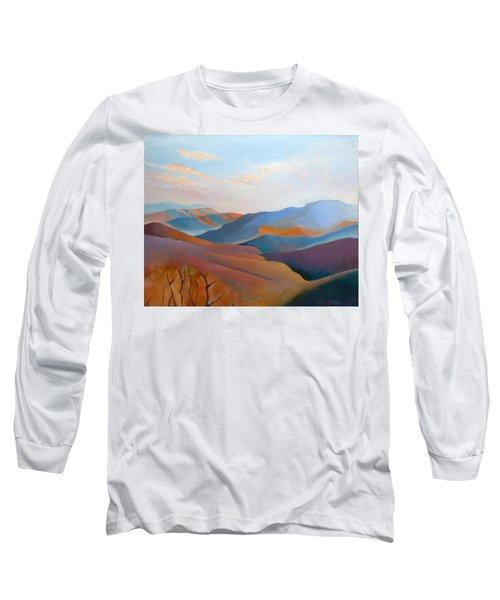 East Fall Blue Ridge No.3 Long Sleeve T-Shirt by Catherine Twomey