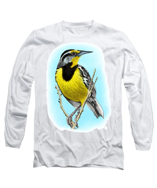 Eastern Meadowlark Long Sleeve T-Shirt