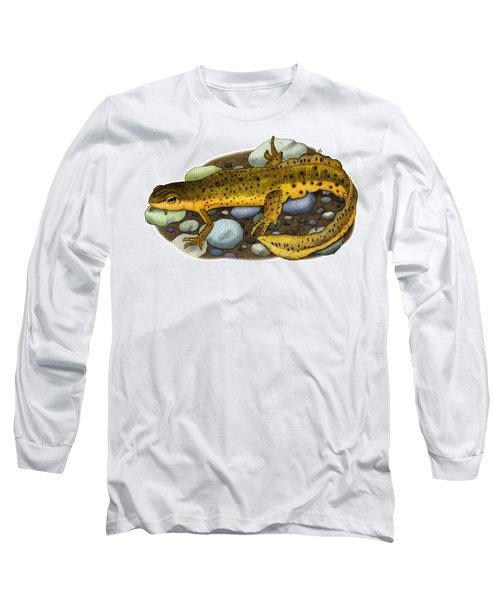 Eastern Newt Long Sleeve T-Shirt