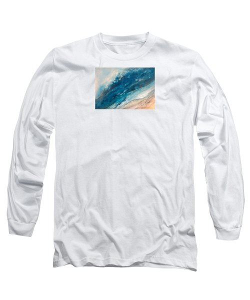 Ebb And Flow Long Sleeve T-Shirt by Valerie Travers