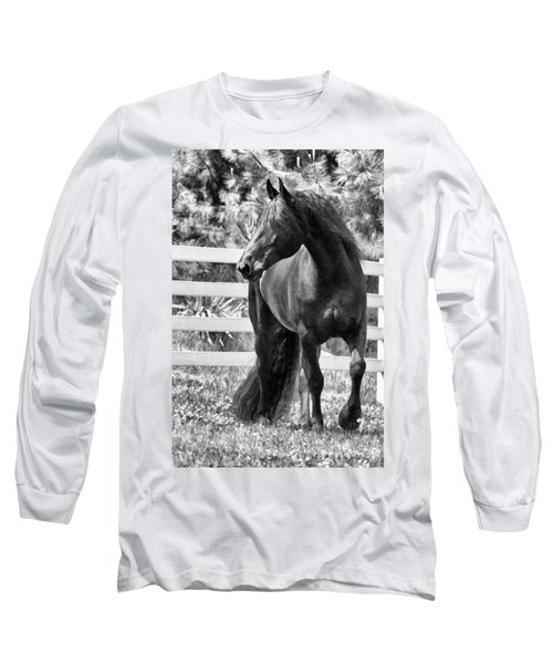 Ebony Beauty Long Sleeve T-Shirt