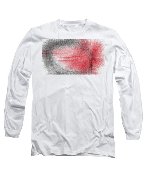 Long Sleeve T-Shirt featuring the painting Echo by Roz Abellera Art