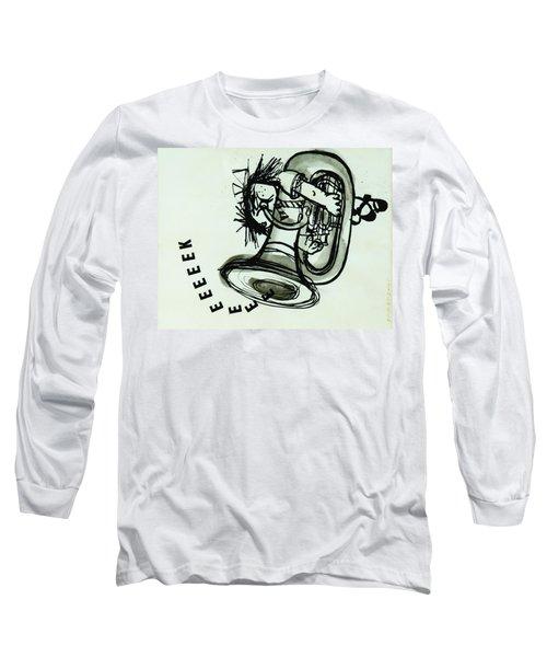Eeeeeeek! Ink On Paper Long Sleeve T-Shirt