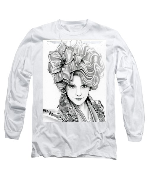 Effie Trinket - The Hunger Games Long Sleeve T-Shirt by Fred Larucci