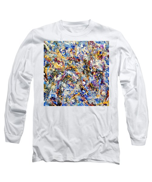 Long Sleeve T-Shirt featuring the painting Eldorado by Dominic Piperata