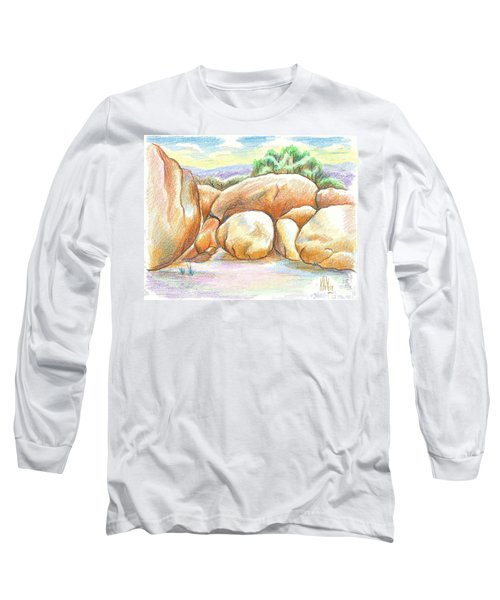 Elephant Rocks State Park II  No C103 Long Sleeve T-Shirt