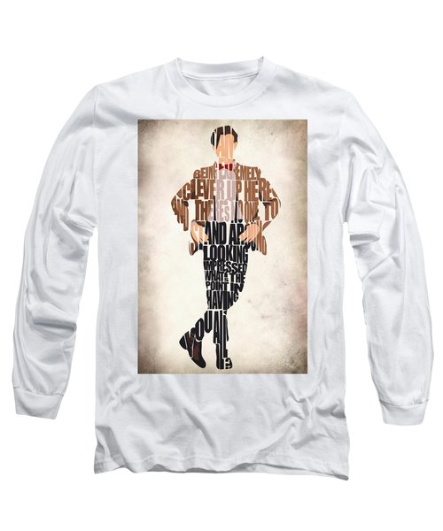 Eleventh Doctor - Doctor Who Long Sleeve T-Shirt by Ayse Deniz