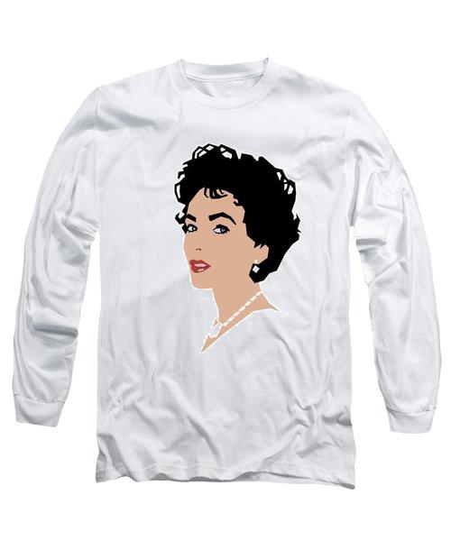 Elizabeth Long Sleeve T-Shirt by Douglas Simonson