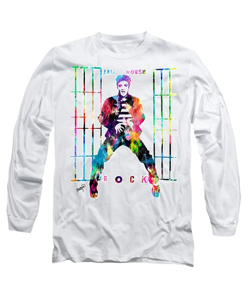 Elvis Presley Jail House Rock Long Sleeve T-Shirt