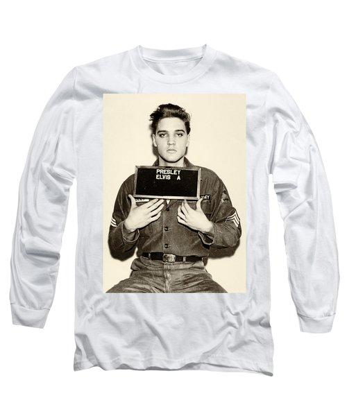Elvis Presley - Mugshot Long Sleeve T-Shirt