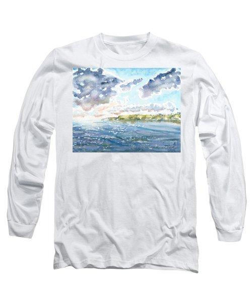 Emerging Sun  Long Sleeve T-Shirt