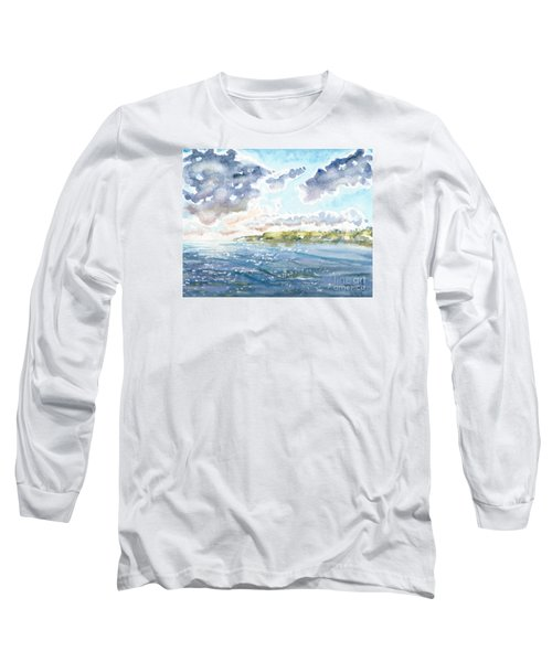 Emerging Sun  Long Sleeve T-Shirt