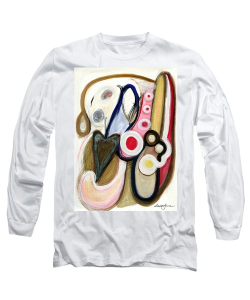 Long Sleeve T-Shirt featuring the painting Emotions by Stephen Lucas
