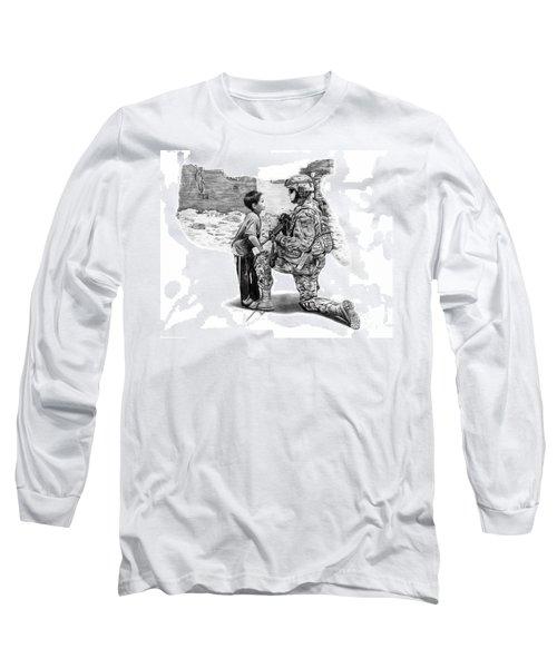 Empty Pockets  Long Sleeve T-Shirt by Peter Piatt