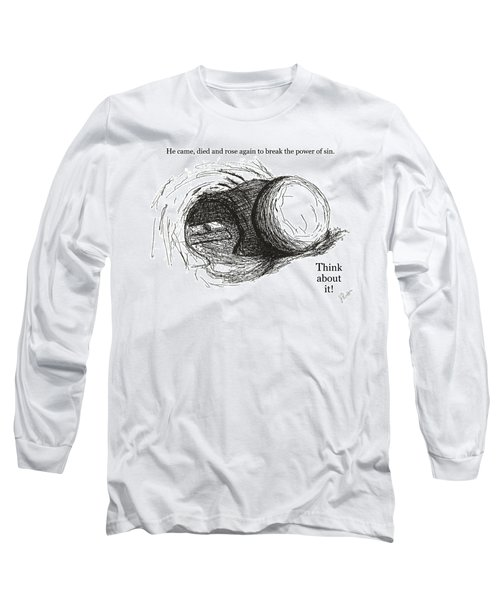 Empty Tomb Long Sleeve T-Shirt by Jerry Ruffin