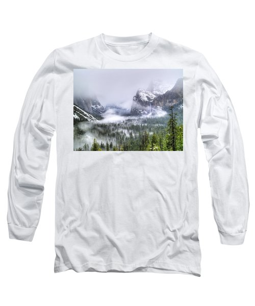 Enchanted Valley Long Sleeve T-Shirt by Bill Gallagher