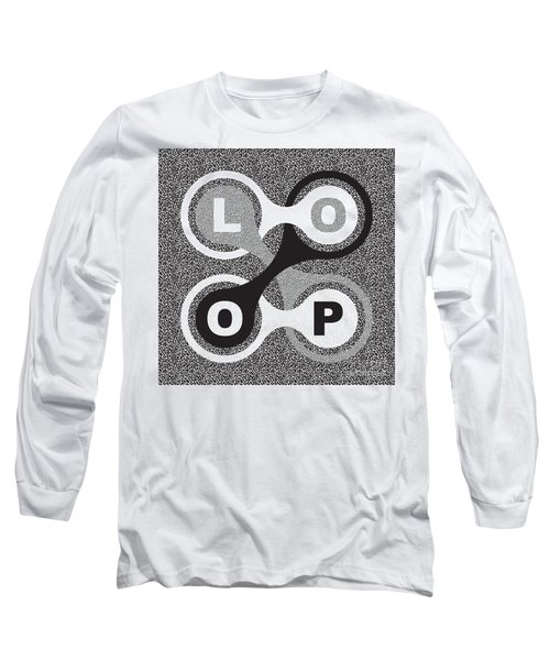Endless Loop Long Sleeve T-Shirt