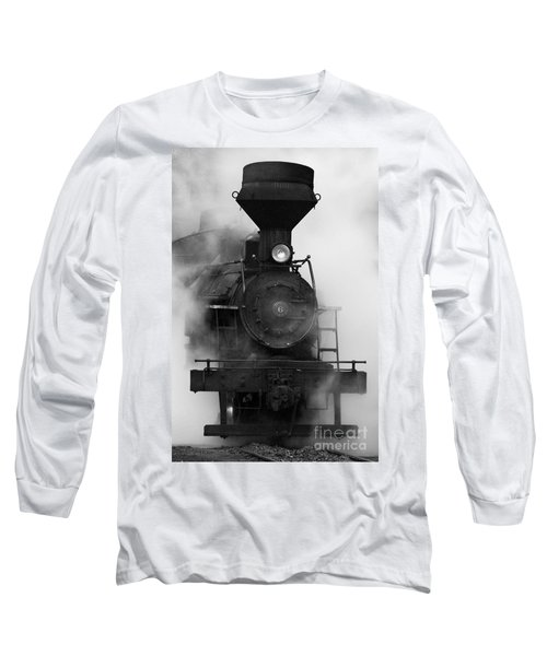 Engine No. 6 Long Sleeve T-Shirt by Jerry Fornarotto