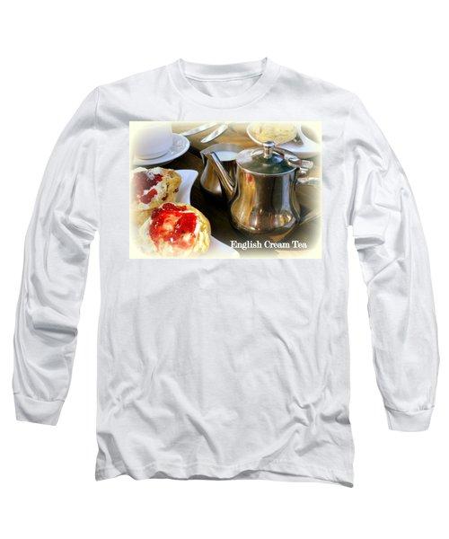 English Cream Tea Long Sleeve T-Shirt