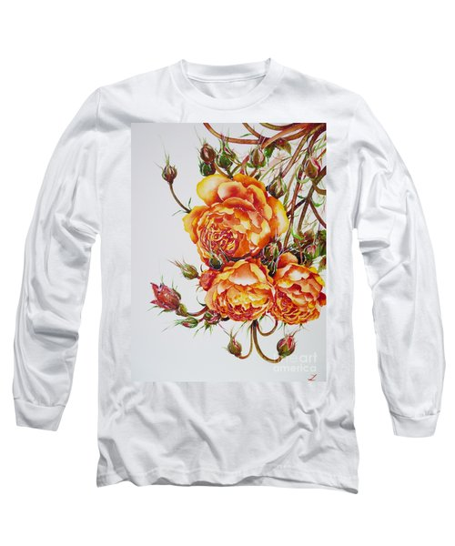 English Roses Long Sleeve T-Shirt