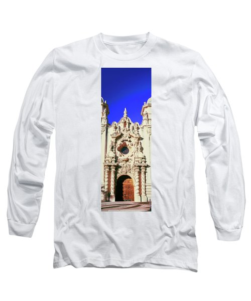 Entrance Doorway Of Casa Del Prado Long Sleeve T-Shirt