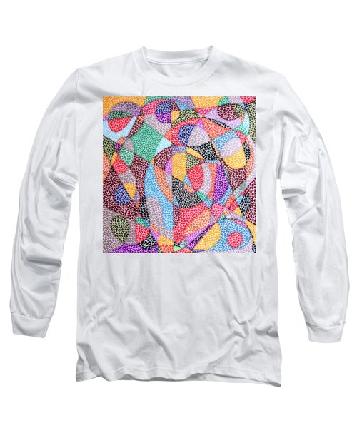 Convergence Long Sleeve T-Shirt by Kruti Shah