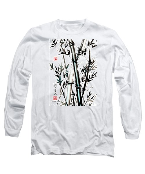 Long Sleeve T-Shirt featuring the painting Essence Of Strength by Bill Searle