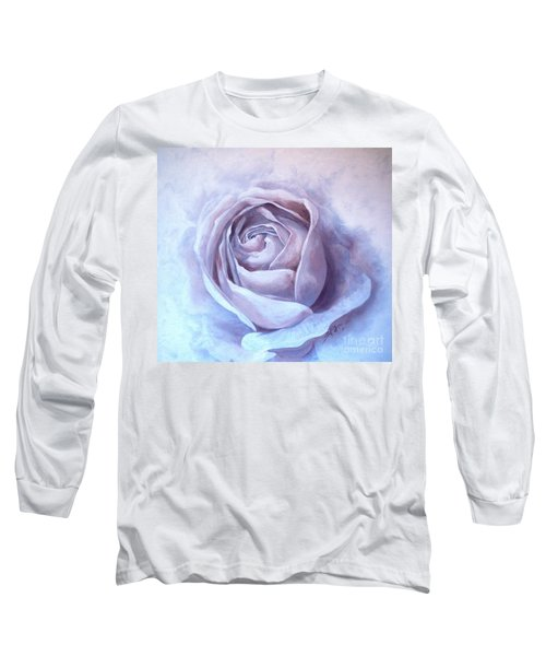 Ethereal Rose Long Sleeve T-Shirt by Sandra Phryce-Jones