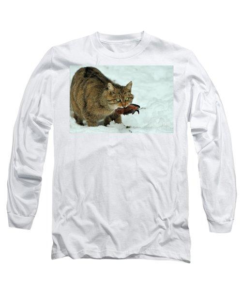 European Wildcat Long Sleeve T-Shirt